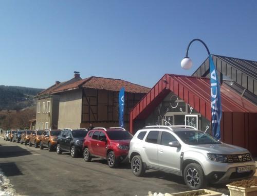 """""""Рено Нисан България"""" избраха Фолклорен център Чавдар за представянето на новата Dacia"""